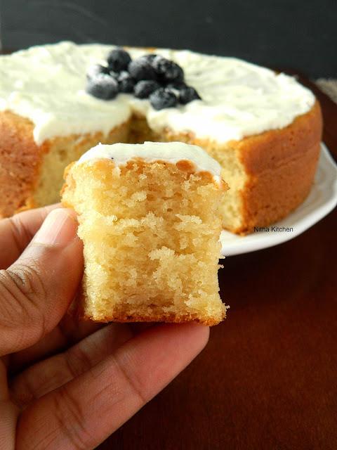 Yogurt Replace Milk Cake