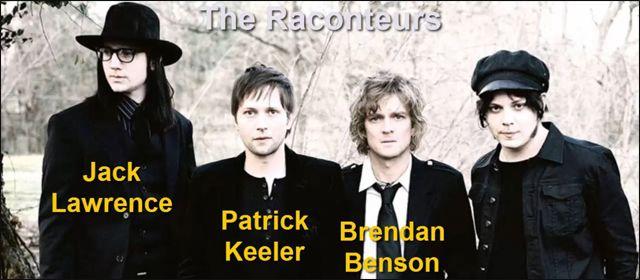 Miembros del Grupo The Raconteurs