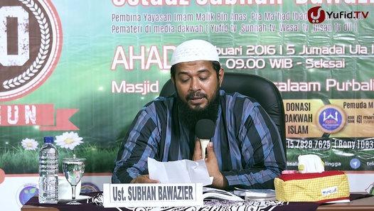 Meluruskan Ustad Wahabi Yufid TV yang Menyalahkan Model Sorban Kyai Nusantara