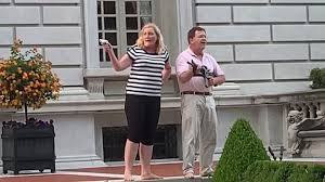 St. Louis couple who pointed gun at protesters-Mark and Patricia McCloskey