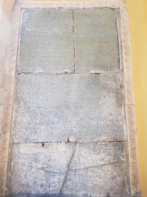 ikinci yakup bey taş vakfiyesi