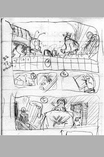 Fuška strana 1 - skica