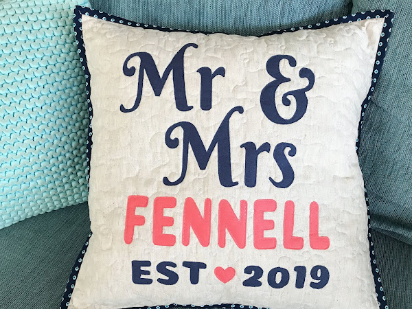 Mr & Mrs Custom Cushion