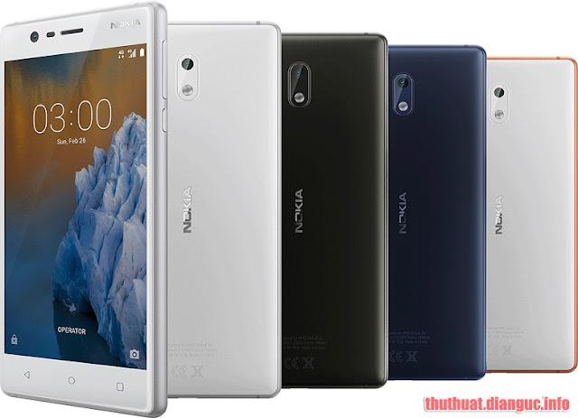 ROM stock Nokia 3 (MT6737) – Android 7.0 flashtool ok