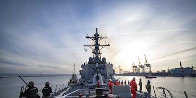 Kapal Perang AS Batal Ke Laut Hitam Usai Diperingatkan Rusia, Pentagon Bungkam?