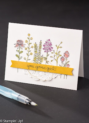 Narelle Fasulo - Independent Stampin' Up! Demonstrator - Flowering Fields - FREE with a $90 order during Sale-A-Bration -only until March 31, 2016