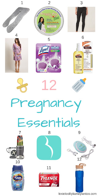 12 Pregnancy Essentials