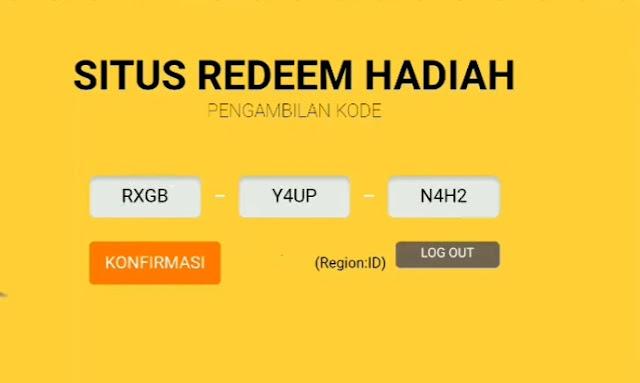 Kode Redeem September