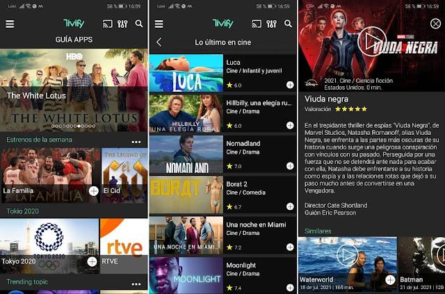 guia apps tivify