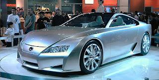 صورة سيارة لكزس أل أف اية