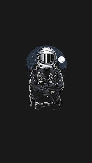 Astronot Wallpaper Keren