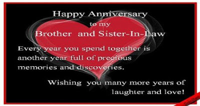 anniversary cards for brother and bhabhi