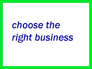 how to choose the right business to start