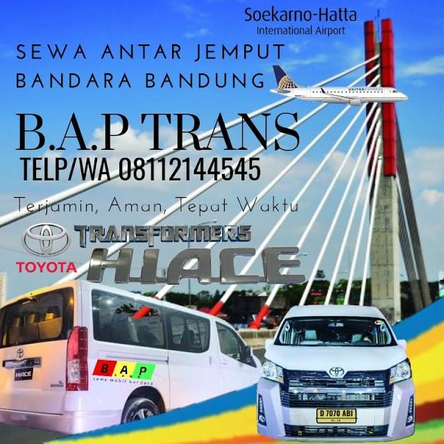 Sewa Transportasi dari Bandara Soekarno-Hatta ke Bandung
