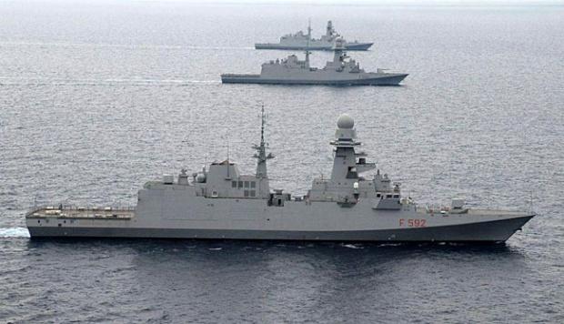 Prabowo Bakal Beli 8 Kapal Perang dari Italia