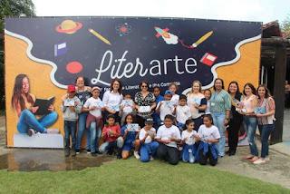 Literarte na quarta 6/11 mostrou ao público a  produção literária e artística dos 2.500 estudantes da rede de ensino da Ilha