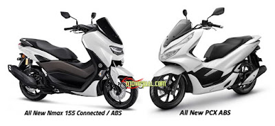 All New NMax ABS vs All New PCX ABS