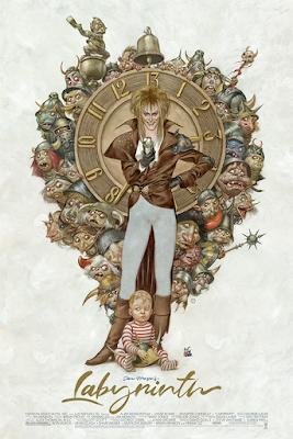 Labyrinth Screen Print by Julian Totino Tedesco x Mondo