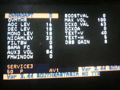 cara masuk ke menu service mode tv dengan mudah