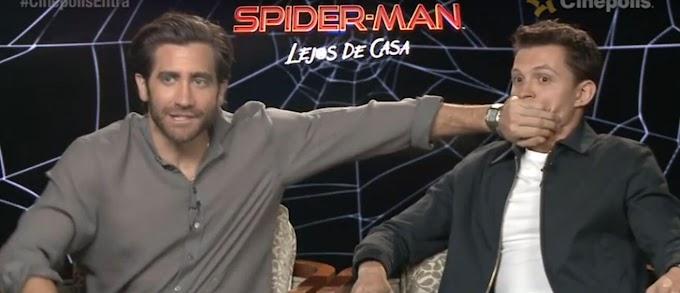 Homem-Aranha: Jake Gyllenhaal toma atitude cômica com Tom Holland para evitar spoiler