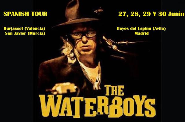 Cuatro citas con Mike Scott y The Waterboys en Junio - Gira 2019