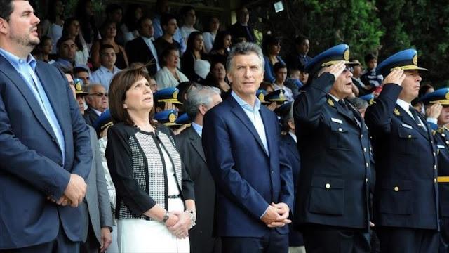 Denuncian 'violencia política' del presidente Macri en Argentina