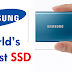 Samsung Just Unveiled The World's Largest SSD