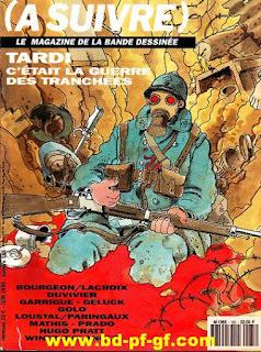 Tardi, c'était la guerre des tranchées