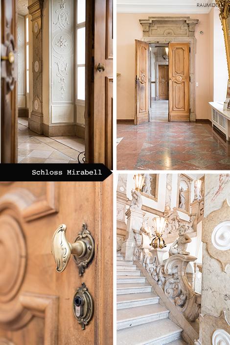 Reisetipps für Salzburg - Schloss Mirabell.