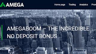Bonus Forex Tanpa Deposit AmegaBOOM Sampai $1000 - AMEGA