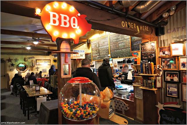 Interior del Restaurante The American BBQ