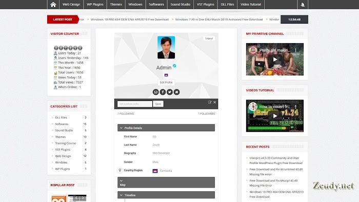 Userpro v4.9.39 Community and User Profile WordPress Plugin