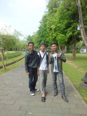Foto di Depan Pintu Masuk Candi Borobudur