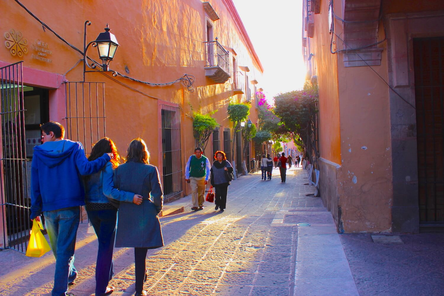 queretaro very pretty back backstreet