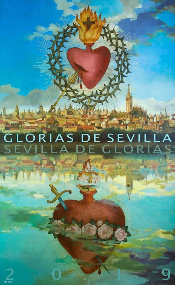 Cartel y acto de presentación de las Glorias de Sevilla 2019