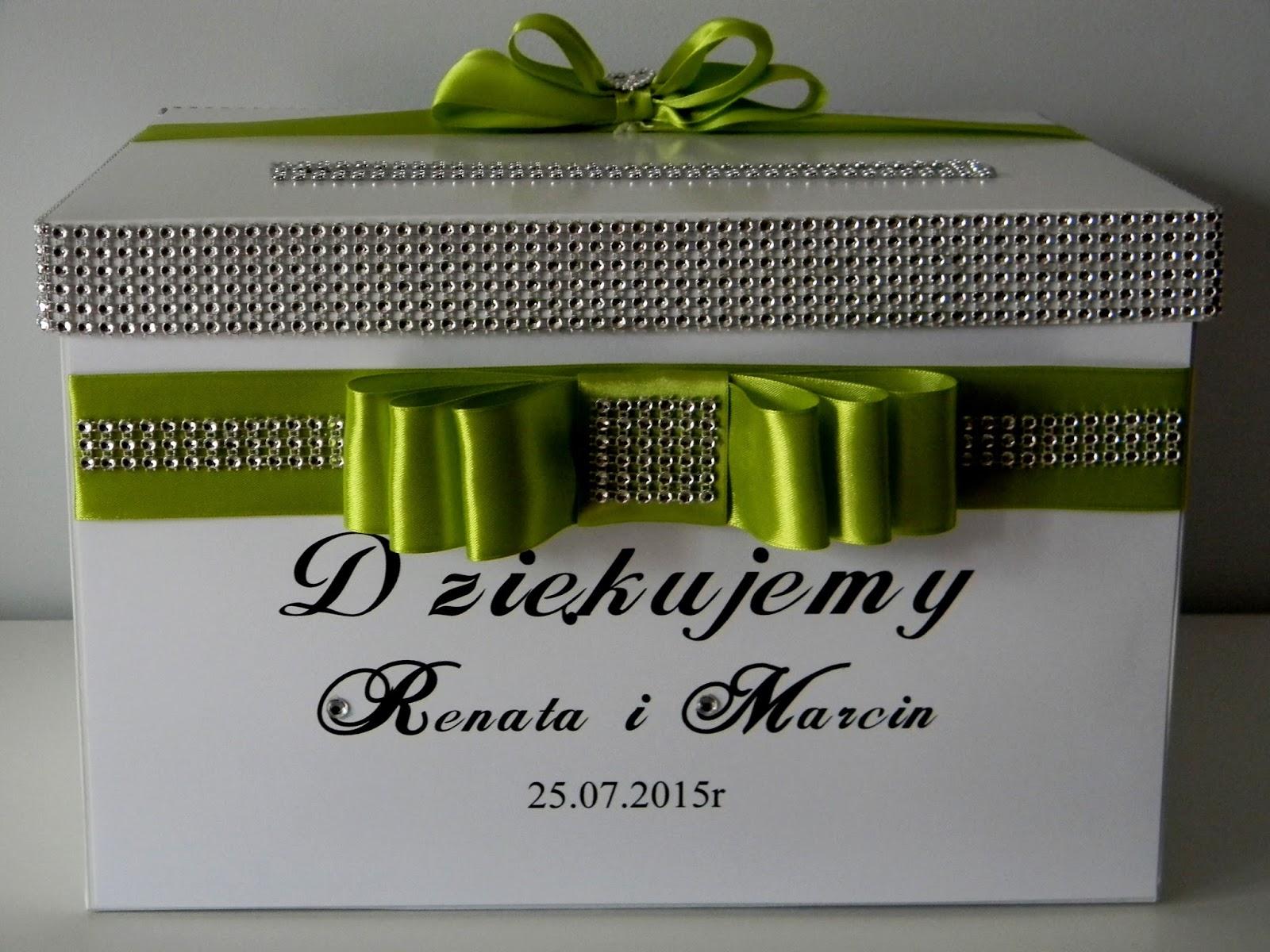 Dekoracje ślubne Szaro Zielony Komplet Slubny Zaproszenia