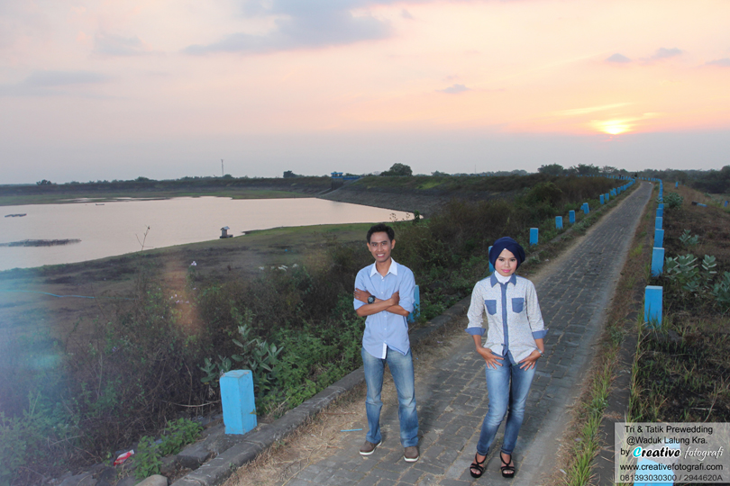 foto prewedding sunset
