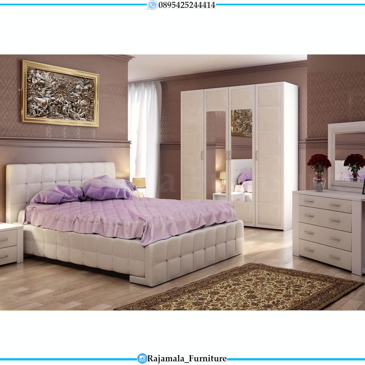Tempat Tidur Minimalis Modern Terbaru Elegant Set Jepara RM-0645