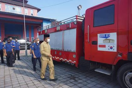 Lombok Barat Dapat Hibah Mobil Pemadam dan Ambulans Dari Negeri Ginseng Korea Selatan