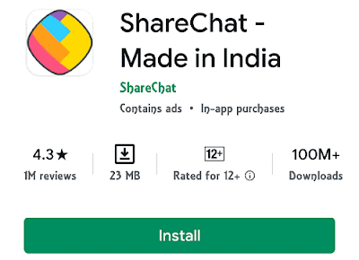 Sharechat - Made in  India Social App Free Download
