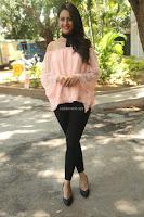 Rakul Preet Singh in lovely Pink Crop Top and Black Trousers at Jaya Janaki Nayaka success meet 055.JPG