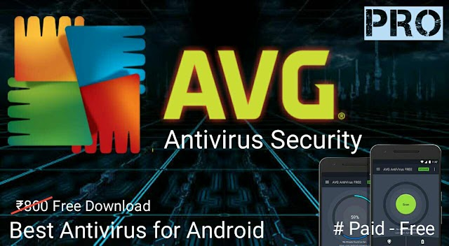 AVG AntiVirus PRO mod Android Security Latest Apk Full Version Cracked app for Android