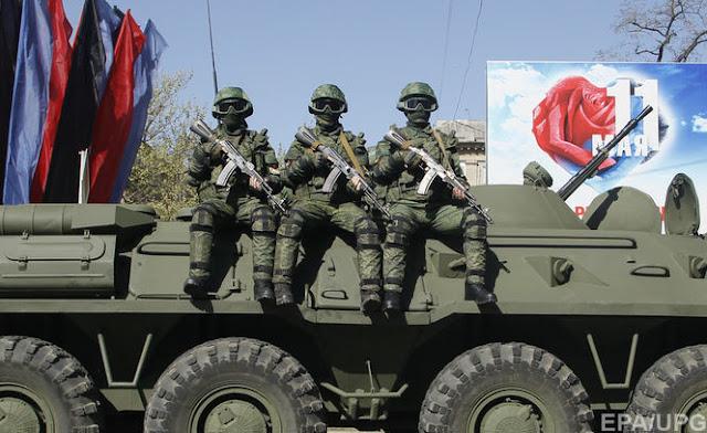 """СБУ розпочала кримінальне провадження за фактом трансляції українським ЗМІ """"військового параду"""" у Донецьку"""
