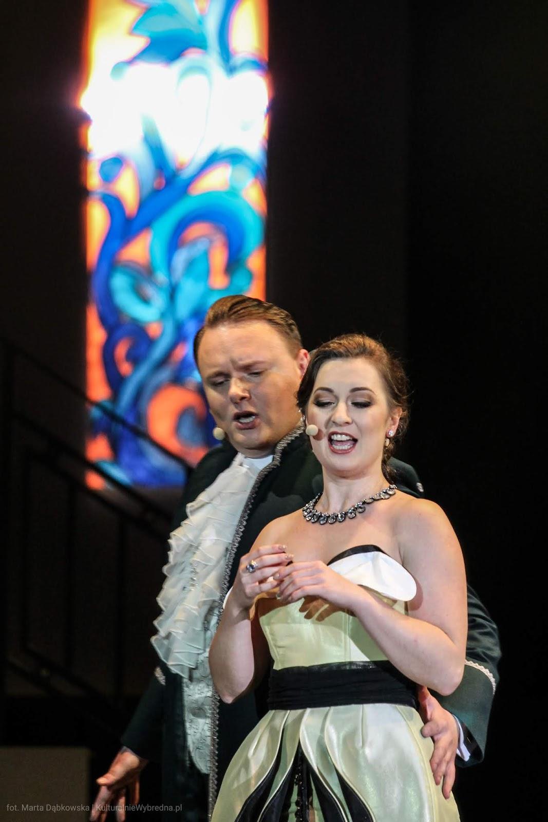 operetka Wesoła Wdówka Magdalena Stefaniak Adam Kruszewski