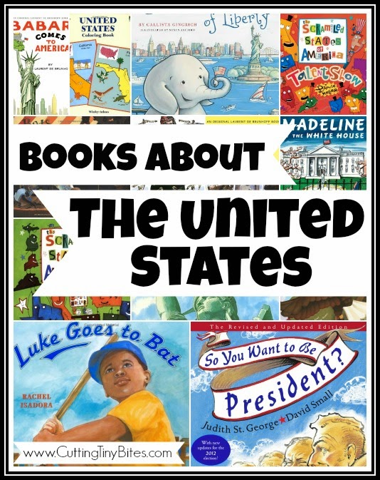 Children's books about the United States-- Book Review List
