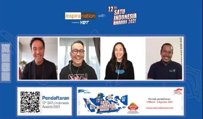 Semangat Melaju bersama Inspira Nation 12 tahun Satu Indonesia Awards