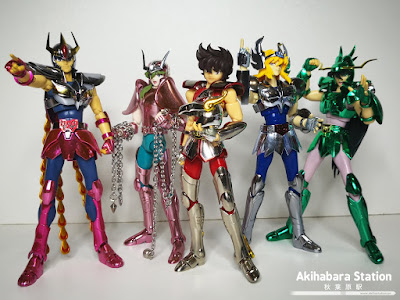 Saint Cloth Myth Cygnus Hyoga ver. Revival de Saint Seiya - Tamashii Nations