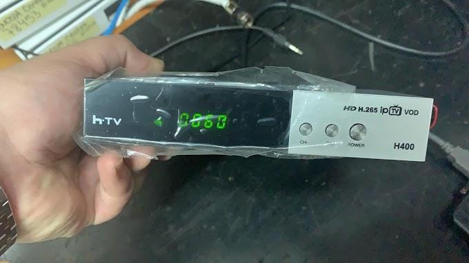 HTVBOX H400 HD NOVA ATUALIZAÇÃO - 22/06/2019