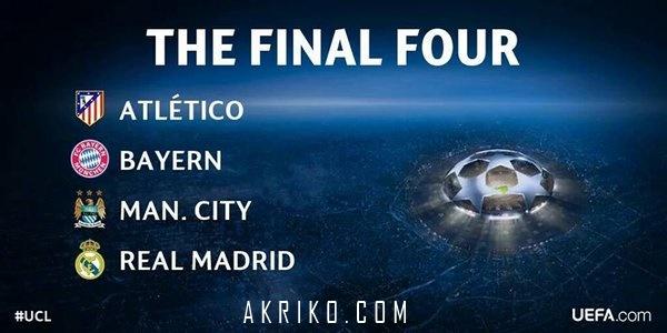 Semifinal Liga Champion 2015/2016