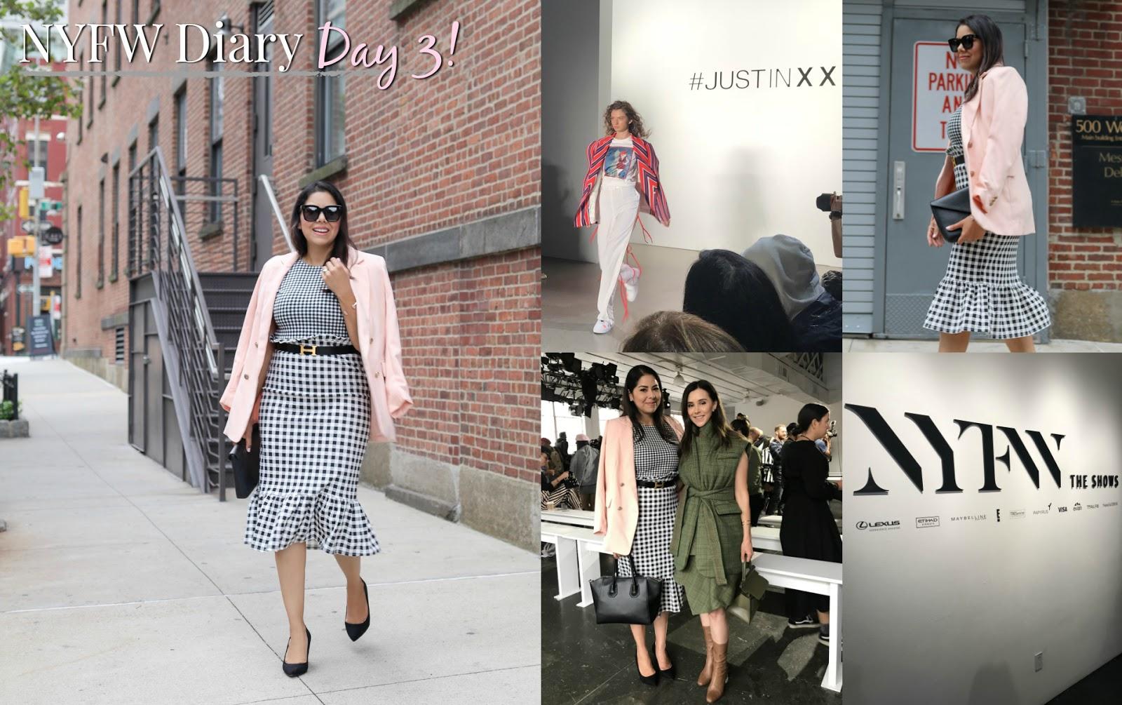 NYFW Blogger Diary Day 3, NYFW blogger diary